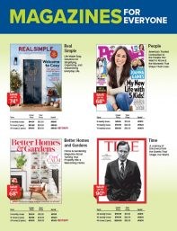 Magazines cover
